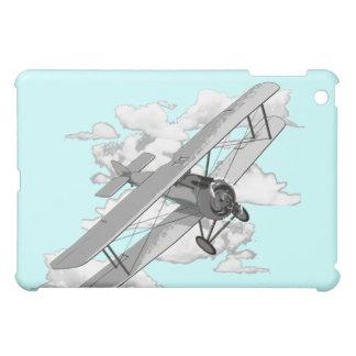 Vintage Biplane iPad Mini Covers