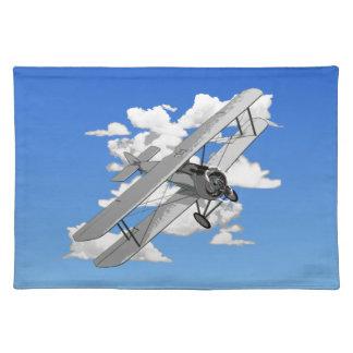 Vintage Biplane Placemat