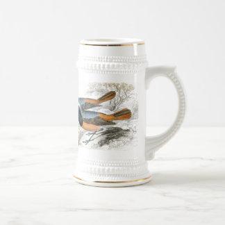 Vintage Bird 07 Beer Stein