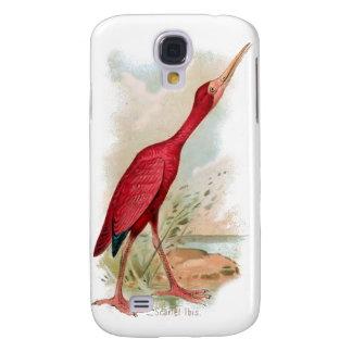 Vintage Bird 3G Spec Galaxy S4 Case