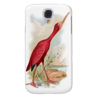 Vintage Bird 3G Spec Galaxy S4 Cover