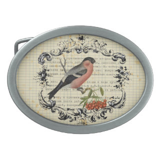 Vintage bird Belt buckle