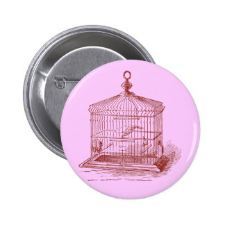 Vintage Bird Cage Buttons