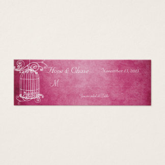 Vintage Bird Cage Honeysuckle Place Cards