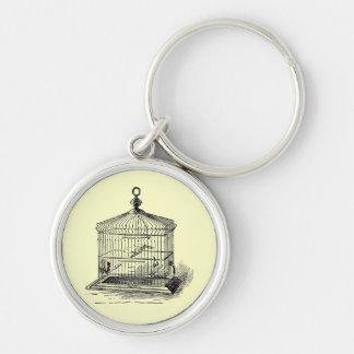 Vintage Bird Cage Keychains