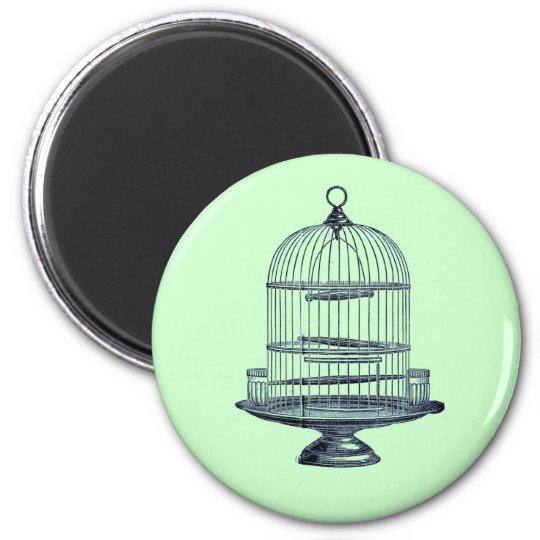 Vintage Bird Cage Magnet