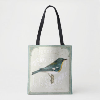 Vintage Bird Facing the Right Tote Bag