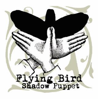 Vintage Bird Hand Puppet Shadow Games Cutout