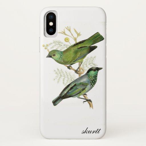 Vintage Bird iPhone Case