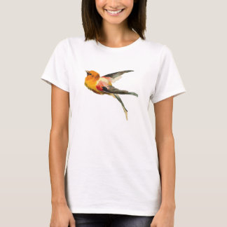 Vintage Bird motif Woman's T-Shirt