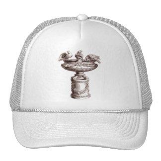 Vintage Birdbath Trucker Hat