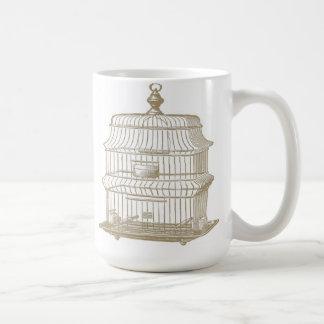 Vintage Birdcage...mug Coffee Mug