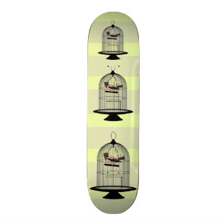 Vintage Birdcages Skateboard Deck