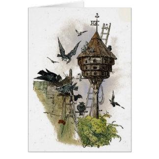 Vintage - Birdhouse for Pigeons. Card
