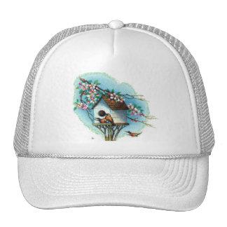 Vintage Birdhouse Trucker Hat