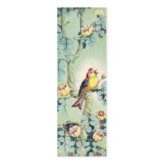 Vintage Birdie Mini Business Card