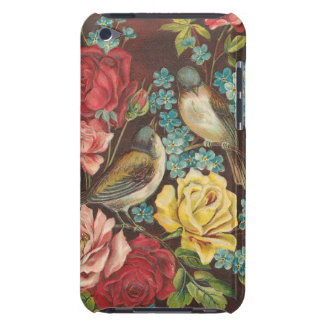 Vintage Birds and Flowers Case-Mate iPod Touch Case