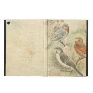 Vintage Birds and writing iPad Air Cover