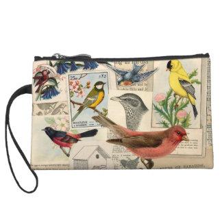 Vintage Birds Bagettes Bag