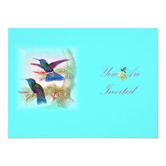 Vintage Birds Illustration Invites