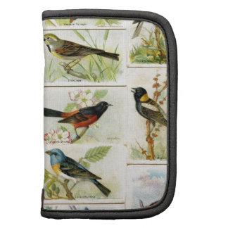Vintage Birds Planners
