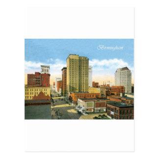 Vintage Birmingham Postcard
