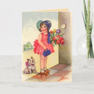 Old fashioned birthday greetings postcards zazzle vintage birthday card m4hsunfo