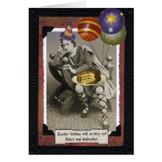 Vintage Birthday Card - Albert
