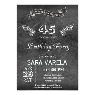 VINTAGE BIRTHDAY PARTY FOR ANY AGE CARD
