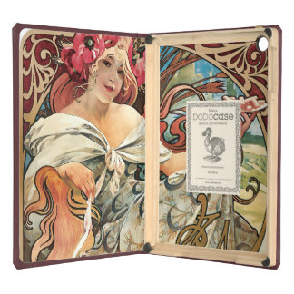Vintage Biscuit Advertisement Alphonse Mucha iPad Air Cover