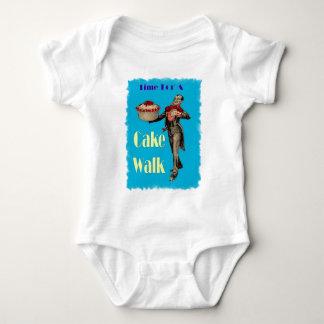 Vintage Black Americana CAKE WALK Baby Bodysuit
