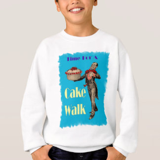 Vintage Black Americana CAKE WALK Sweatshirt