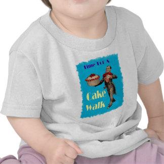 Vintage Black Americana CAKE WALK T Shirt