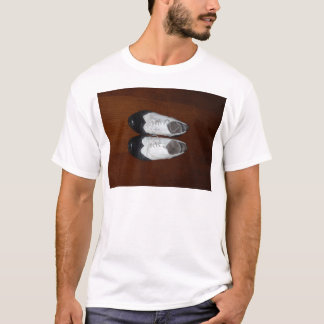Vintage Black And White Dance Shoes T-Shirt