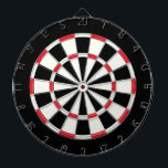 "Vintage Black And White Dartboard With Darts<br><div class=""desc"">Vintage Black And White Dart Board</div>"