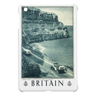 Vintage Black and White Visit Britain Poster iPad Mini Cover