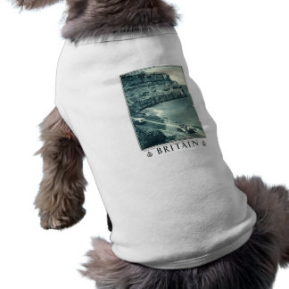 Vintage Black and White Visit Britain Poster Shirt