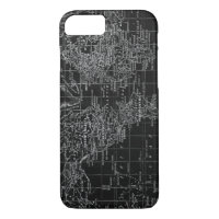 Black white vintage world map gifts on zazzle vintage black and white world map phone case gumiabroncs Choice Image