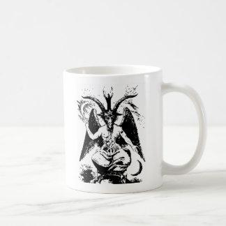 Vintage Black Baphomet Coffee Mug