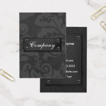Vintage Black Business Cards