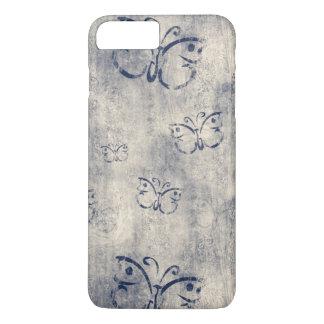 Vintage Black Butterflies iPhone 7 Plus Case