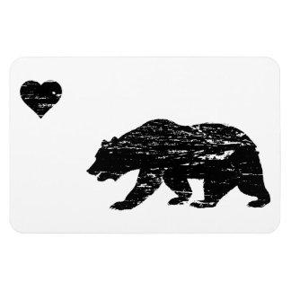 Vintage Black California Love Magnets