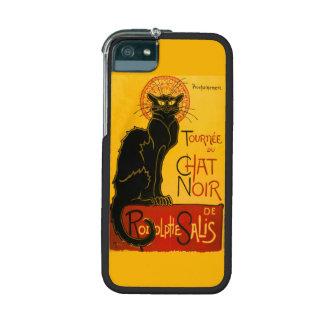 Vintage Black Cat Art Nouveau Paris Cute Chat Noir iPhone 5 Cases