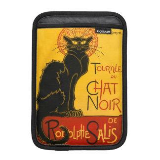 Vintage Black Cat Art Nouveau Paris Cute Chat Noir iPad Mini Sleeve