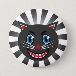 Vintage Black Cat Button