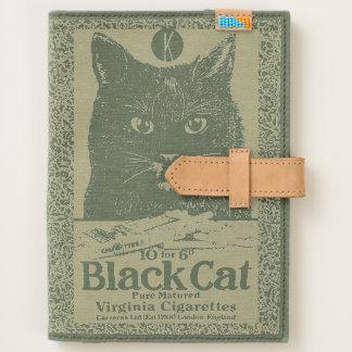 Vintage Black Cat Cigarette Ad Art Journal