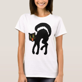 Vintage Black Cat T-Shirt