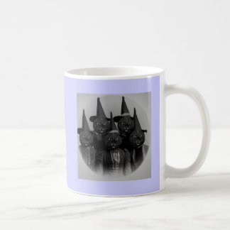 Vintage Black Cat/Witches Coffee Mug