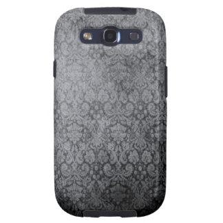 Vintage Black Damask Samsung Galaxy Case Galaxy S3 Cases