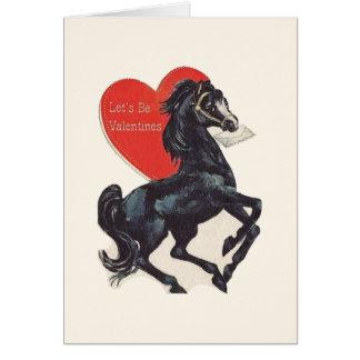 Vintage Black Horse Valentineu0026#39;s ...